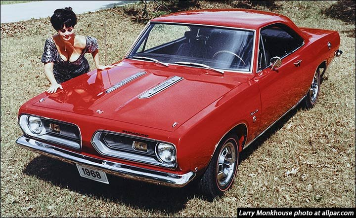 Plymouth Barracuda - the early, sporty, Euro-style cars