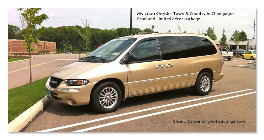 Carpenter's Town & Country in Champagne Pearl