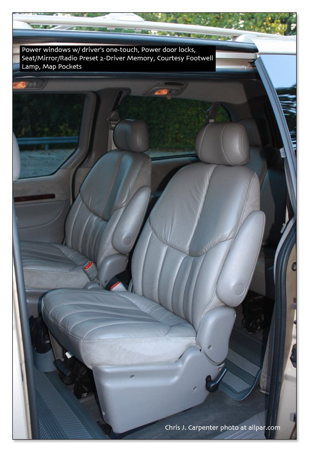 Town & Country Leather Seats