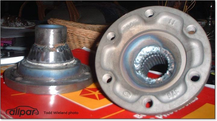 Vanagon Drive Flanges