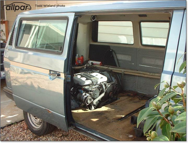 Vanagon with Chrysler V6 engine