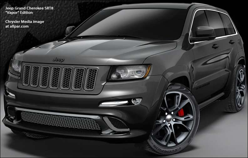 20132015 Jeep Grand Cherokee SRT8 Alpine and Vapor