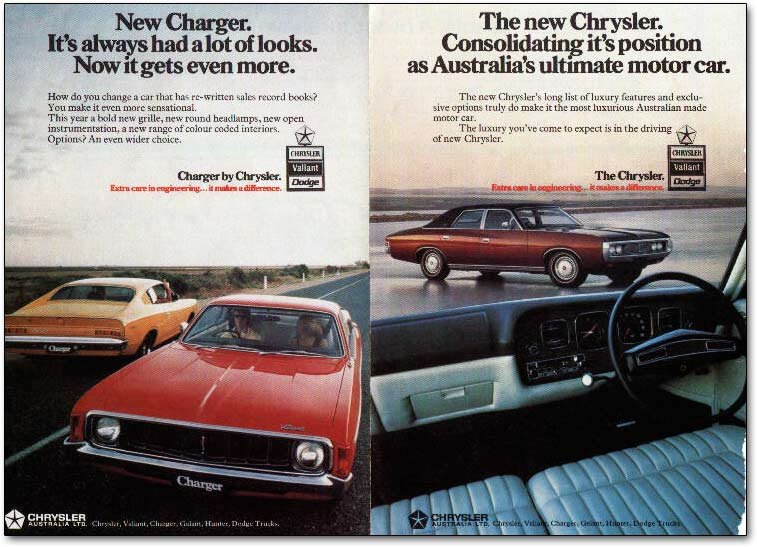 Chrysler On The Murray 2001 Car Show Notes