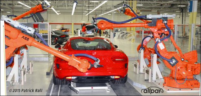 2016 Dodge Viper ACR in factory