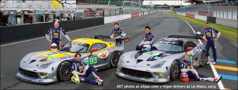 viper racing at le mans 2013