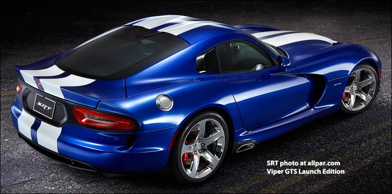 Viper GTS Launch Edition