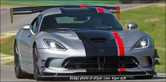 Dodge Viper ACR with Extreme Aero package