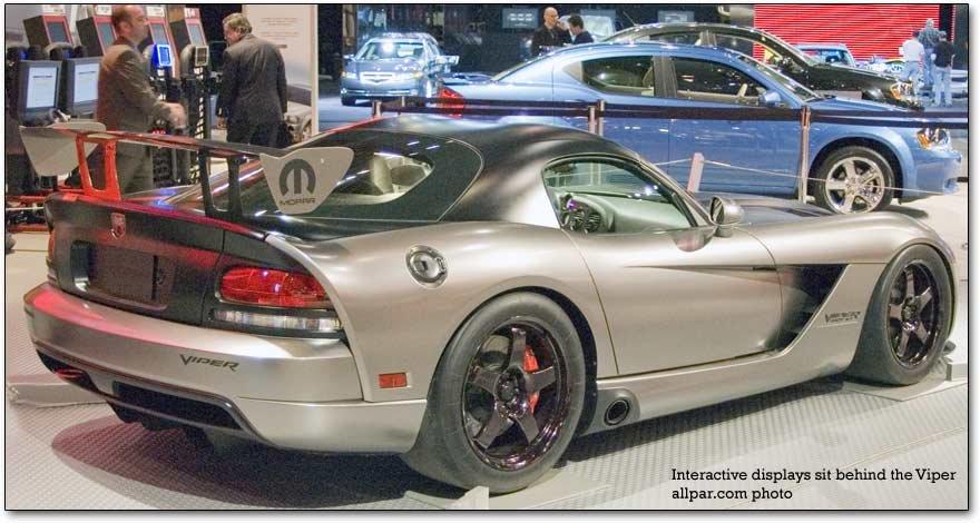 Viper Rear on Dodge Viper Intake Manifold