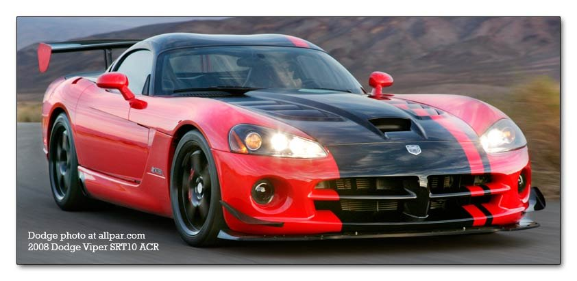 2008-2010 Dodge Viper ACR - car information and specifications