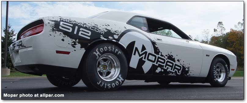 Viper V10 powered Dodge Challenger racing car