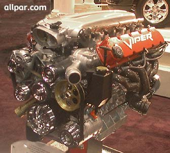 V-10 engine from Viper