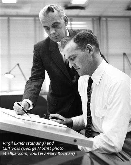Virgil Exner and Cliff Voss