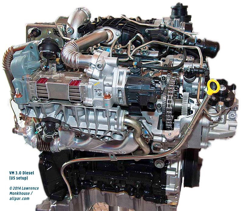 2011 VM Motori V6 Diesel Engines – Dodge 3.0l Engine Diagram