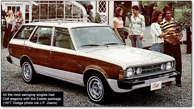 Dodge Colt Plymouth Champ Mitsubishis In Mopar Trim