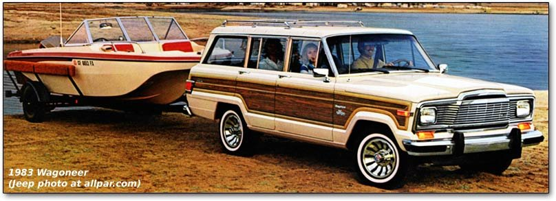 Jeep Wagoneer on The Sent