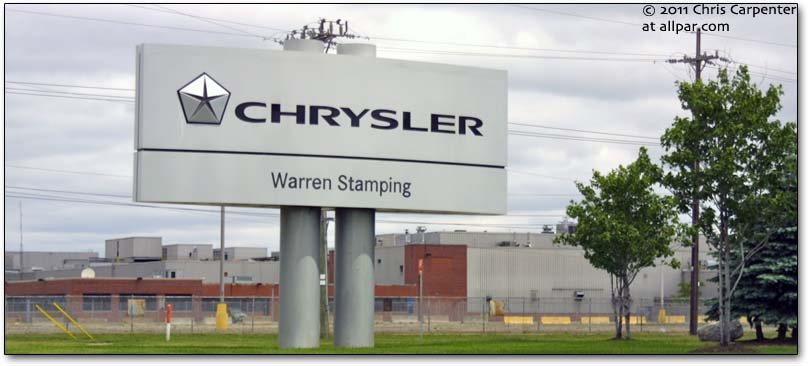 Warren Stamping sign