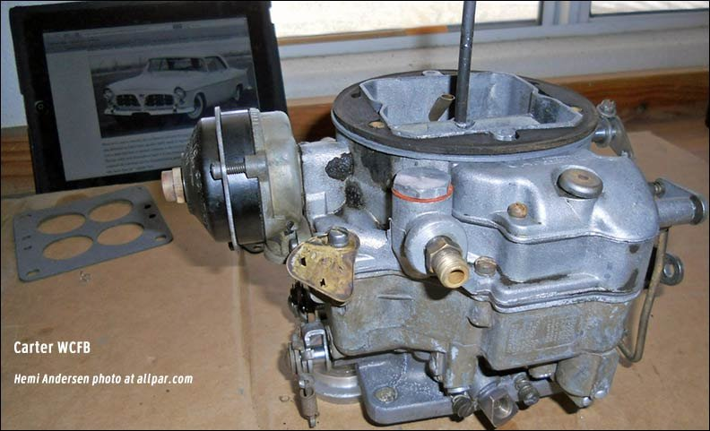 carter wcfb carburetor