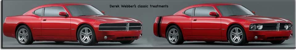 Dodge Charger cars with classic grilles