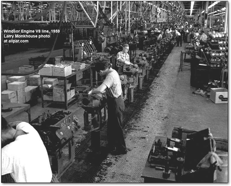 Chrysler-Windsor Engine Plant 1959