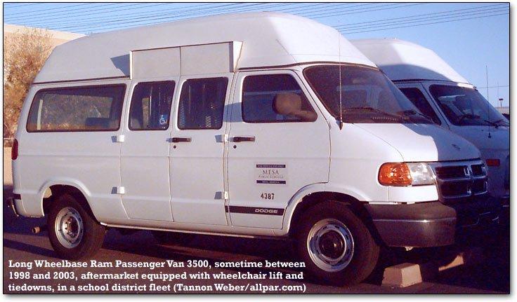 Wheelchair Capable Dodge Van