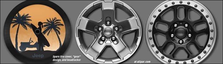 2018 Wrangler wheels
