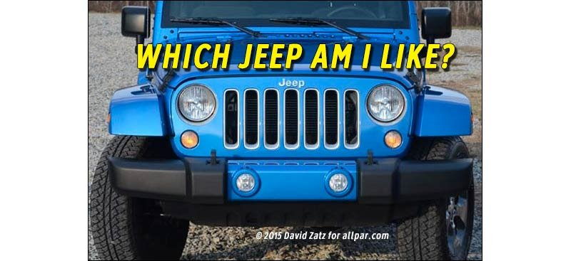 which jeep am I?