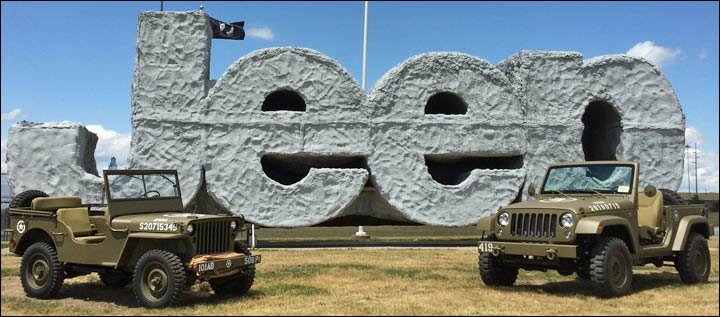 willys and jeep salute