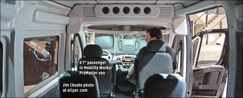 Ram Promaster Passenger Vans