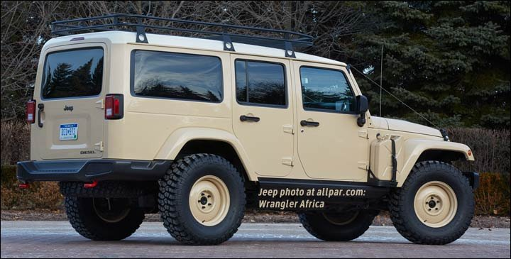 Moab 2015 Jeep concepts from the Wagoneerlike Chief to the Red