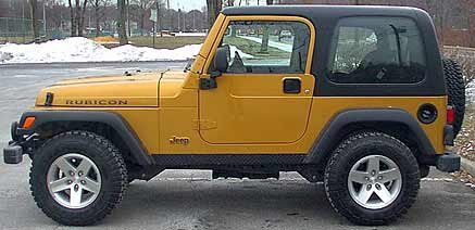 Wrangler   Jeep   Side View Of Rubicon