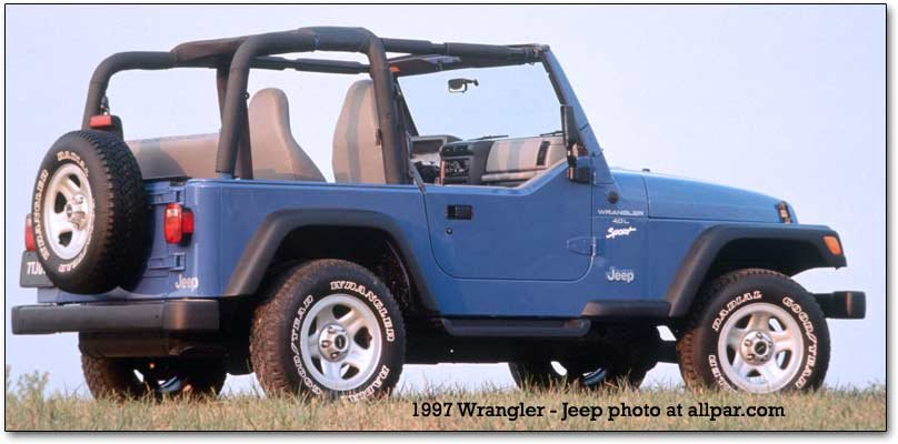 1997-2006 Jeep Wrangler TJ: a new suspension for an iconic SUV