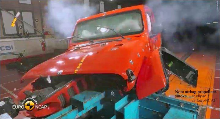 wrangler JL crash test