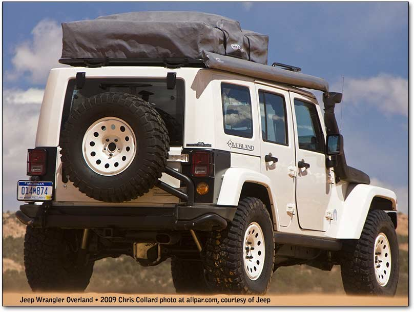 wrangler overland at moab jeep safari