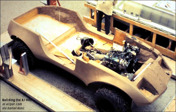 xj002 bolide concept car chassis