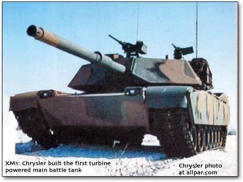 M1 tanks