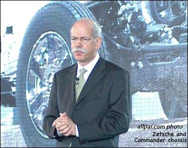 Dieter Zetsche with Commander