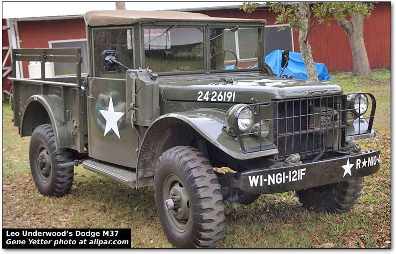 Leo Underwood's Vintage Dodge and Willys Military Trucks | Allpar ForumsAllpar