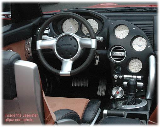 inside the jeepster concept