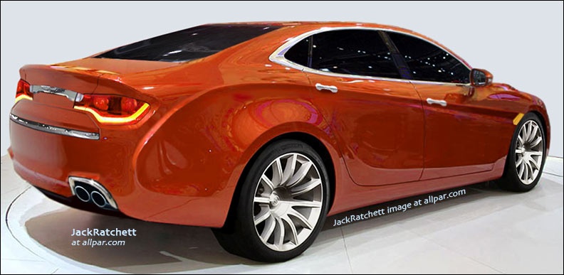 Alternative renderings 2014 chrysler dodge and jeep cars trucks and minivans