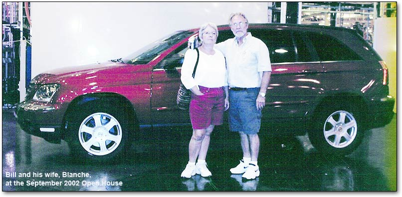 Bill and Blanche in 2002
