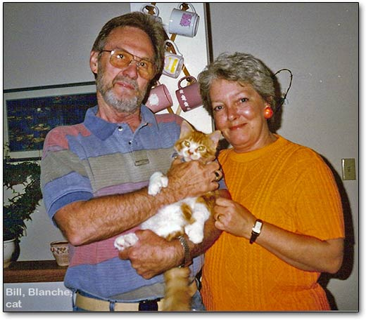 Bill, Blanche, cat