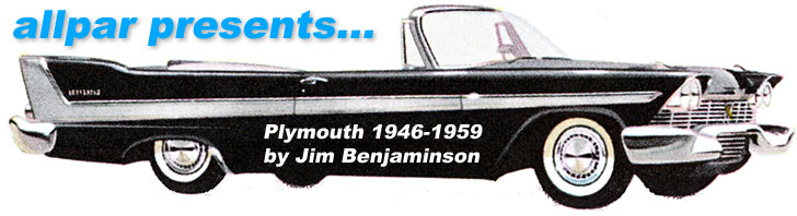 Plymouth 1946-1959, the book