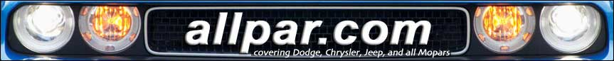 allpar, the Chrysler - Dodge - Jeep car and truck site