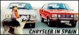 Chrysler 180 and 2 Litre in Spain
