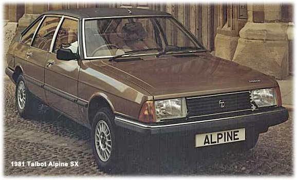 talbot alpine