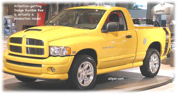Rumble Bee pickup
