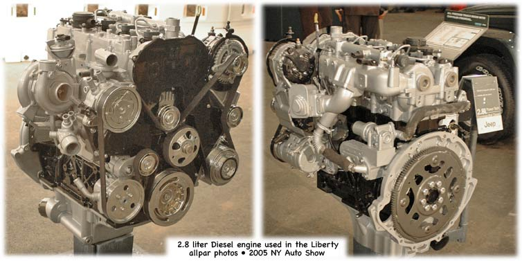 2.8 liter VM diesel from Jeep Liberty