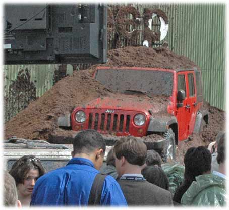 Jeep Wrangler Unlimited launch