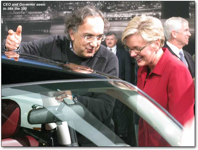 Sergio Marchionne with Governor Granholm