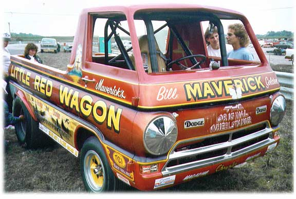 Maverick's Little Red Wagon (Dodge A-100)